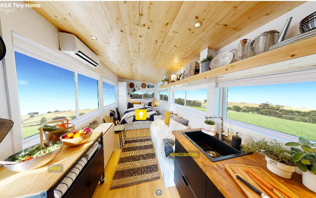… E l'IKEA  dopo i mobili fa anche le case